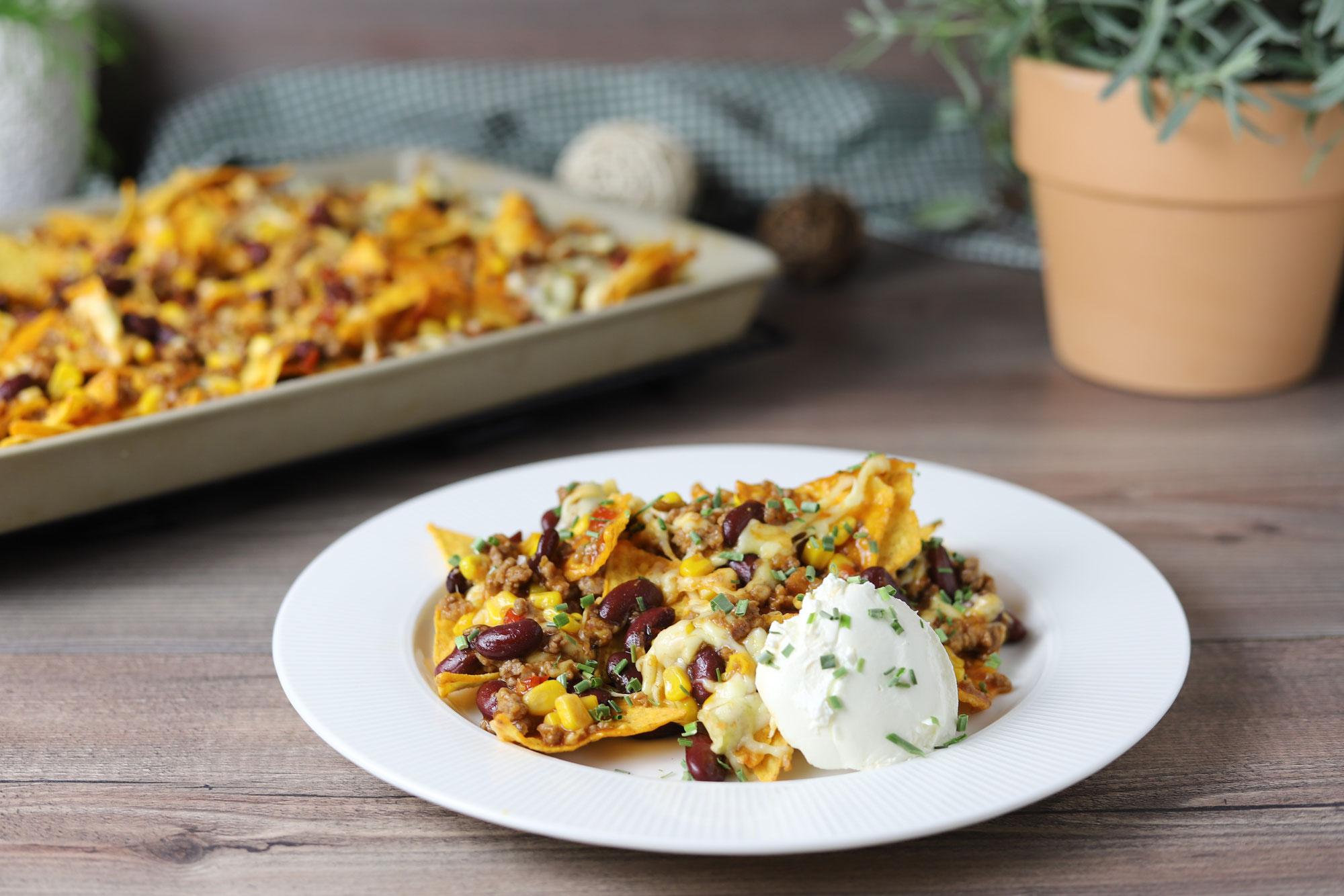Tortilla-Chips-Gratin im Ofenzauberer von Pampered Chef®