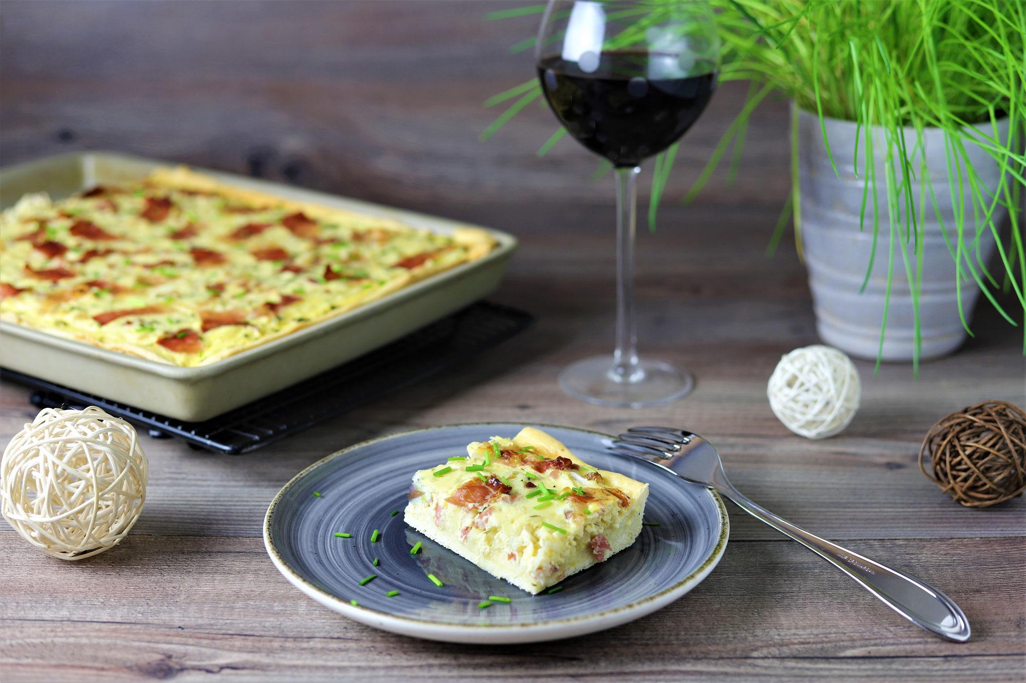 Zwiebelkuchen mit Speck im Ofenzauberer von Pampered Chef®