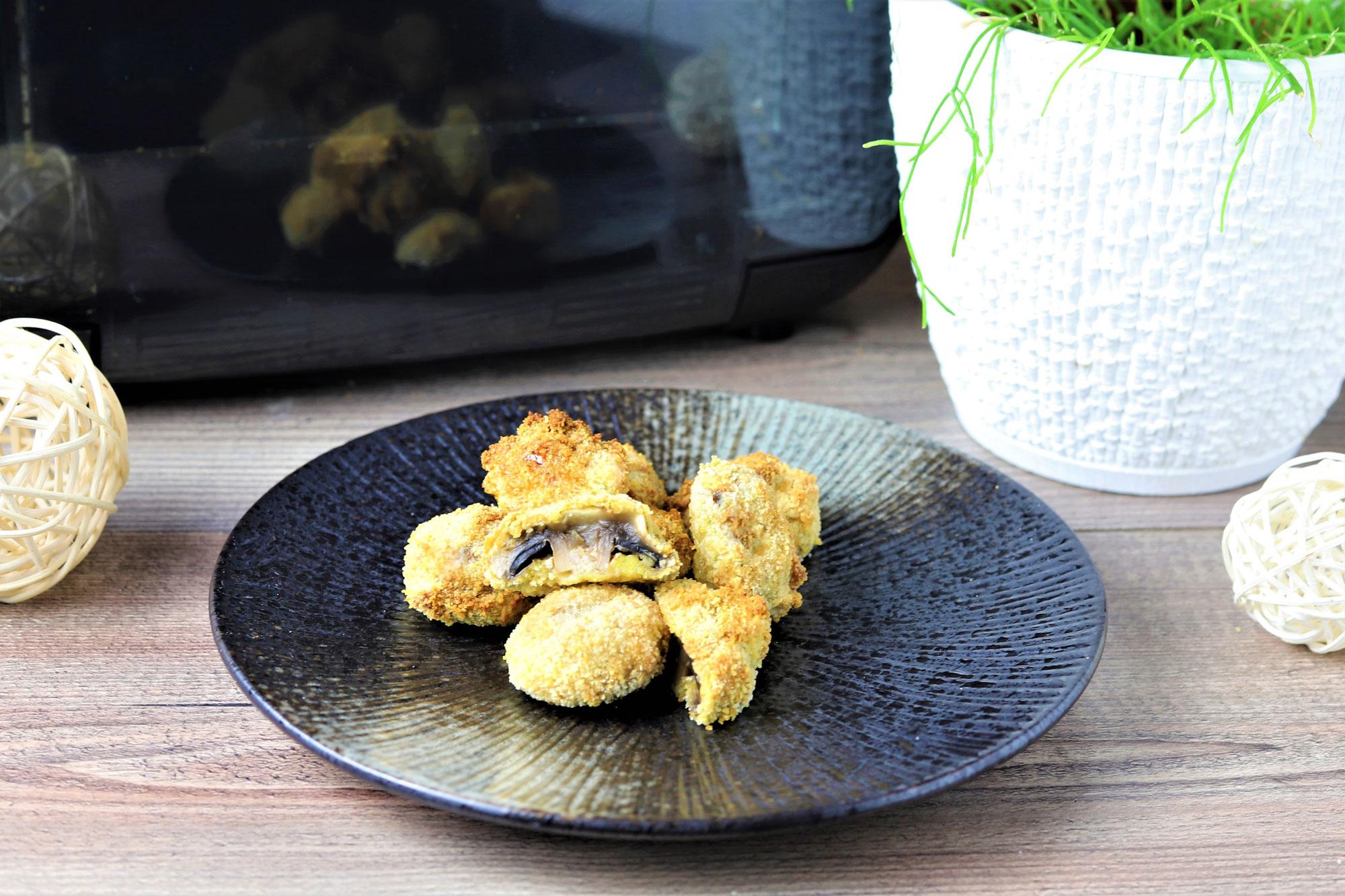 Gebackene Champignons im Deluxe Air Fryer von Pampered Chef®