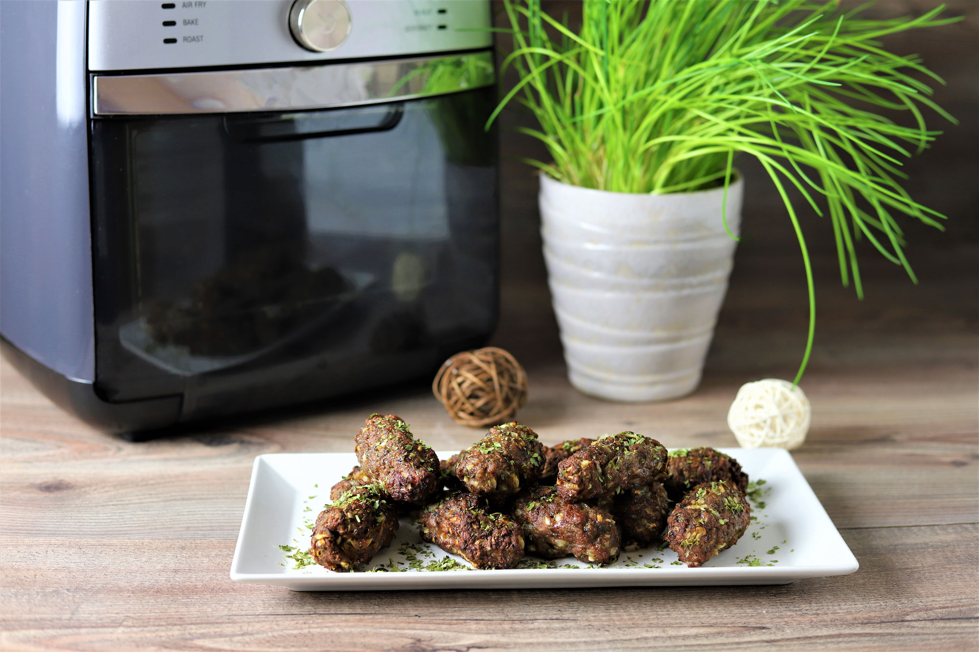 Cevapcici im Deluxe Air Fryer von Pampered Chef®