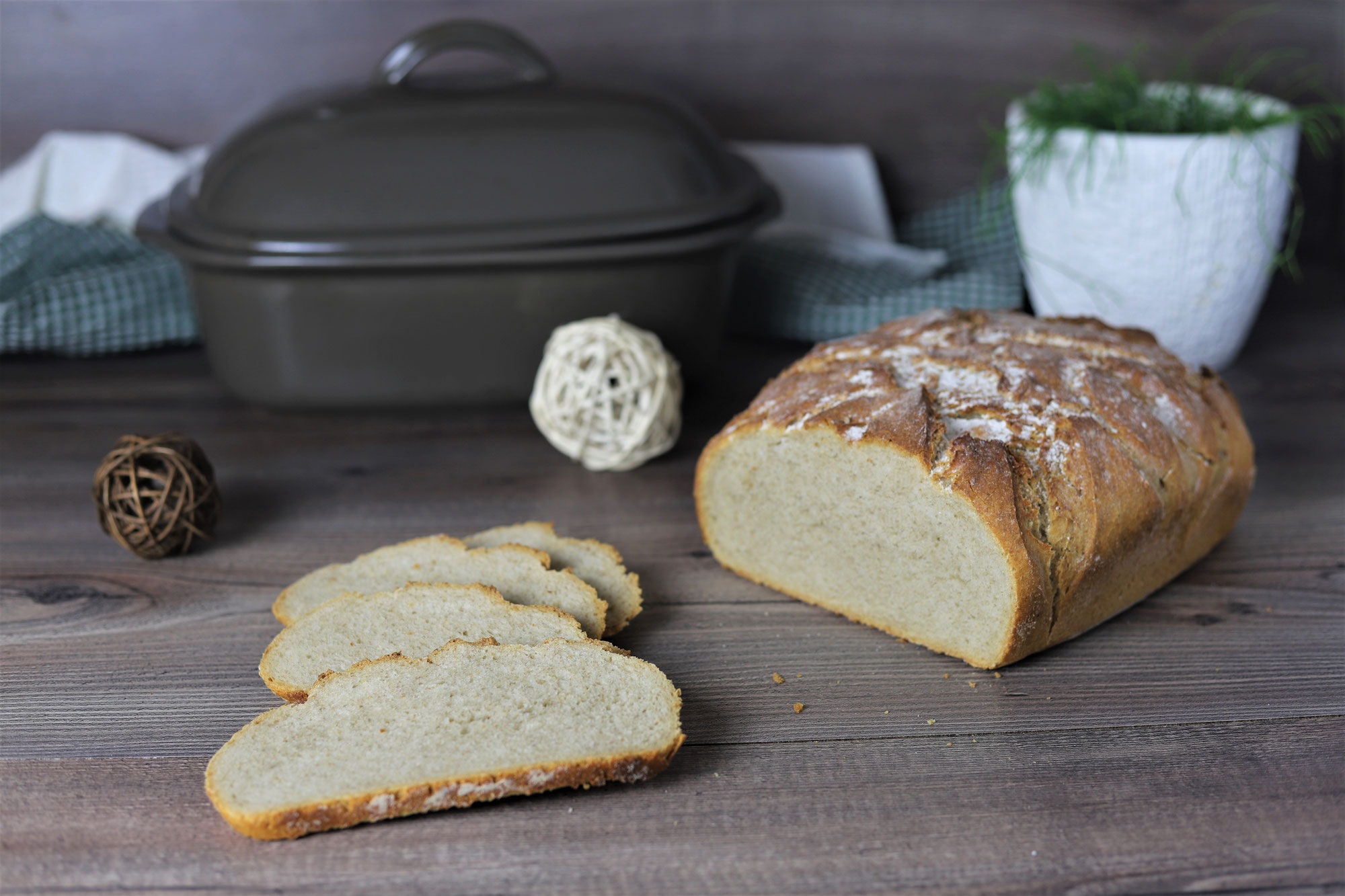 Weizen-Roggen-Kruste im Ofenmeister von Pampered Chef®