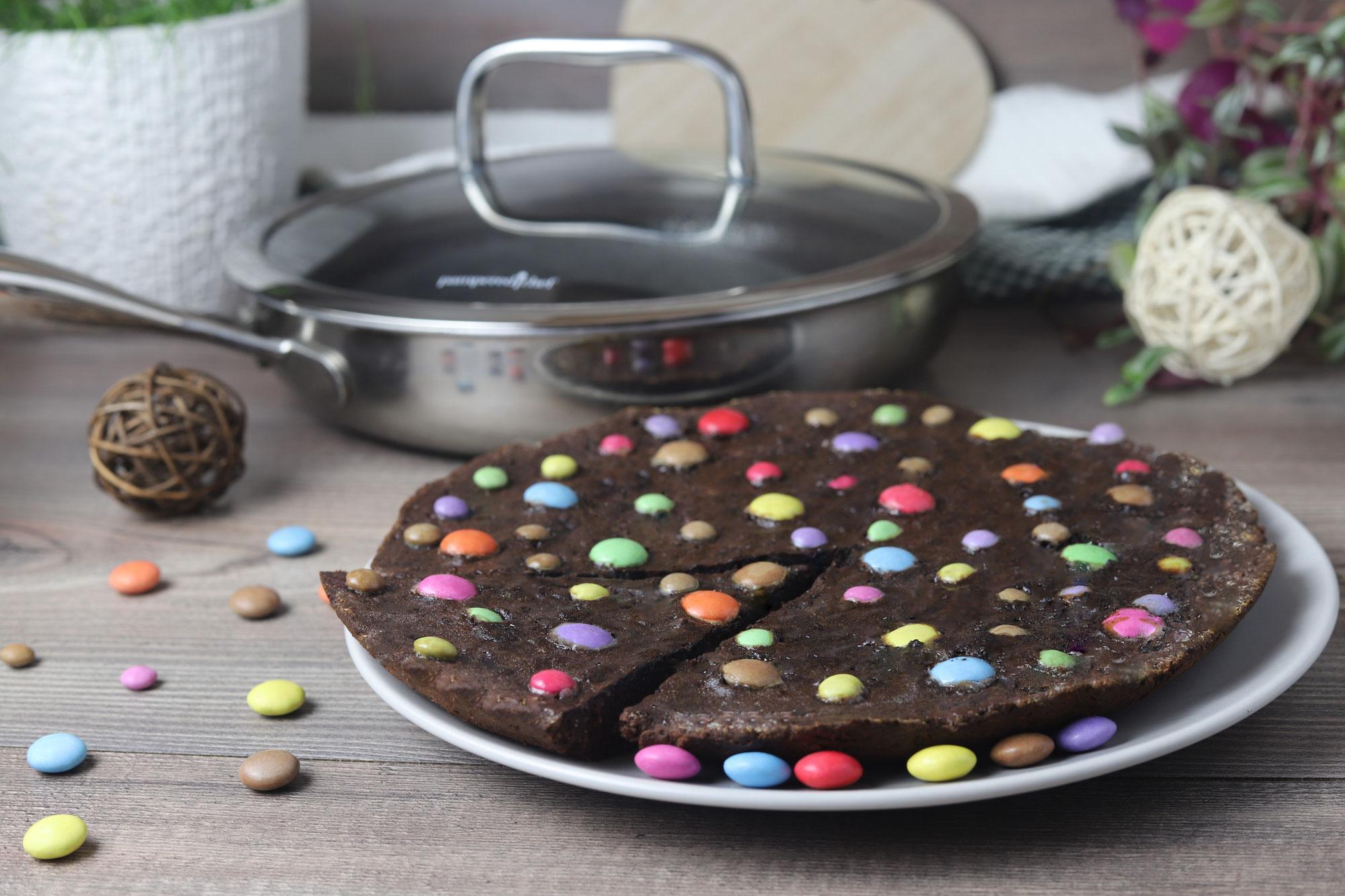 Cookie XXL in der Edelstahlpfanne von Pampered Chef®
