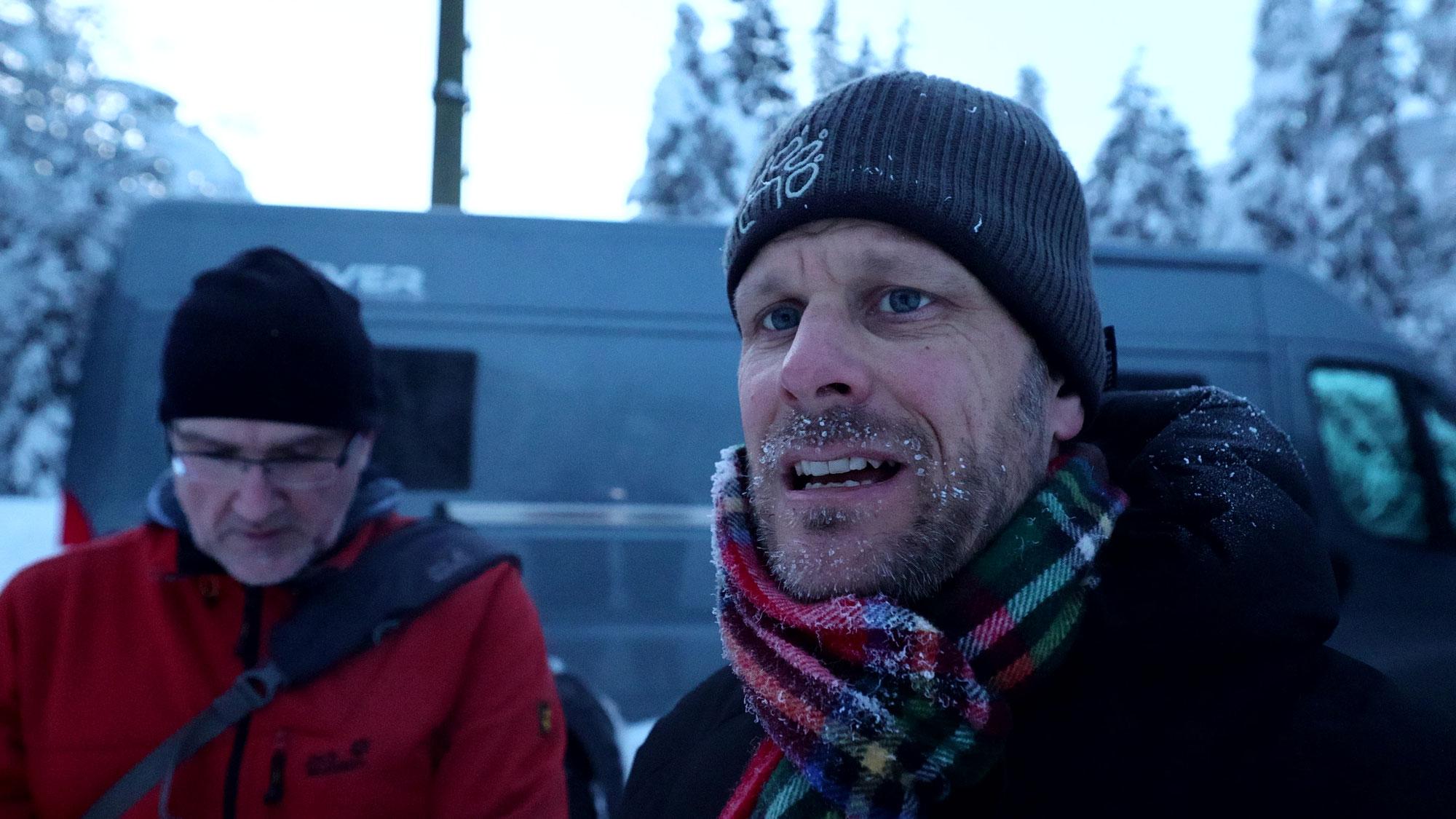 #224 Schneemassen & Jens - Gefriertruhe Albulatal, -17°C und die Heizung steigt aus