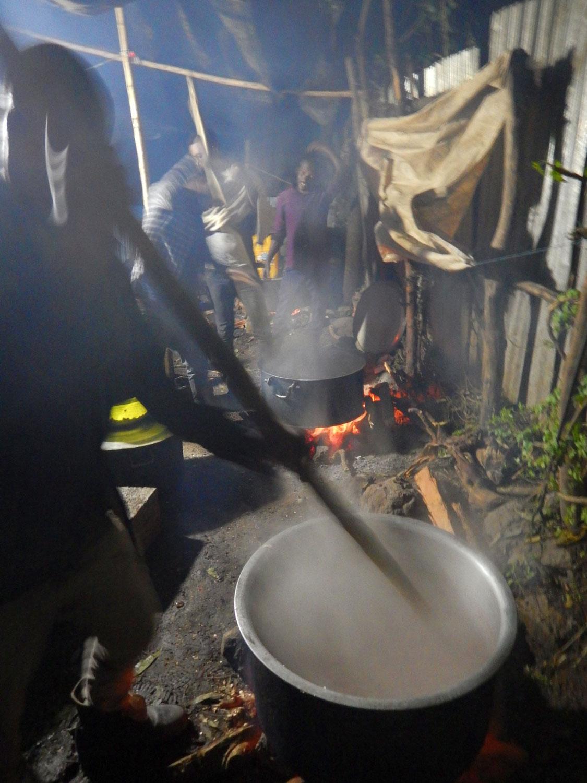 Cuisine éthiopienne, repas familiale