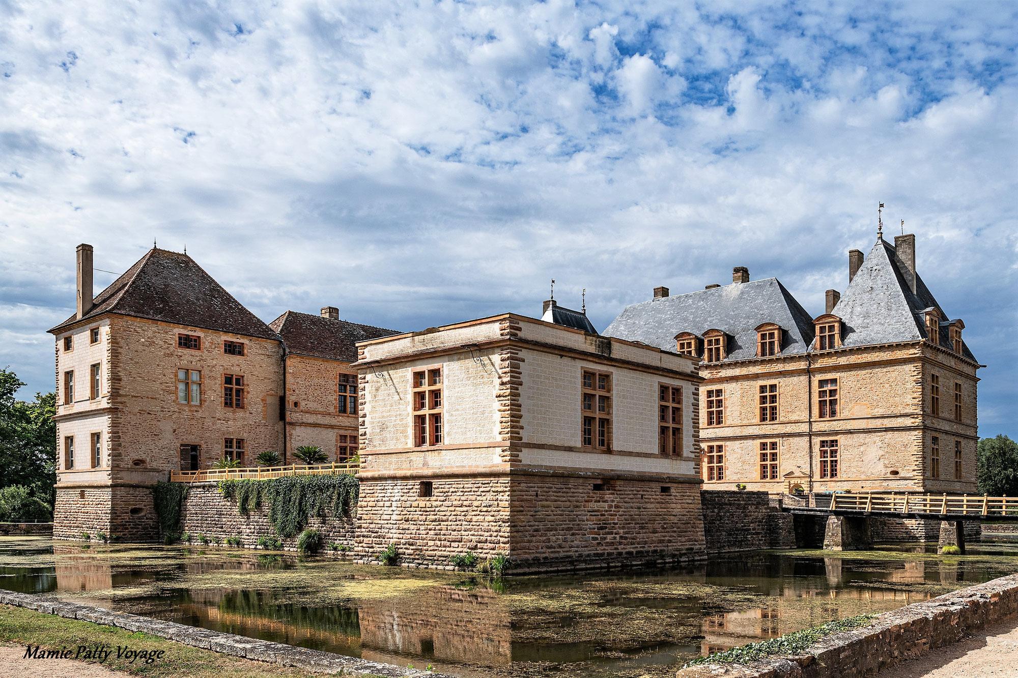 Le château de Cormatin, une histoire d'amour à 4