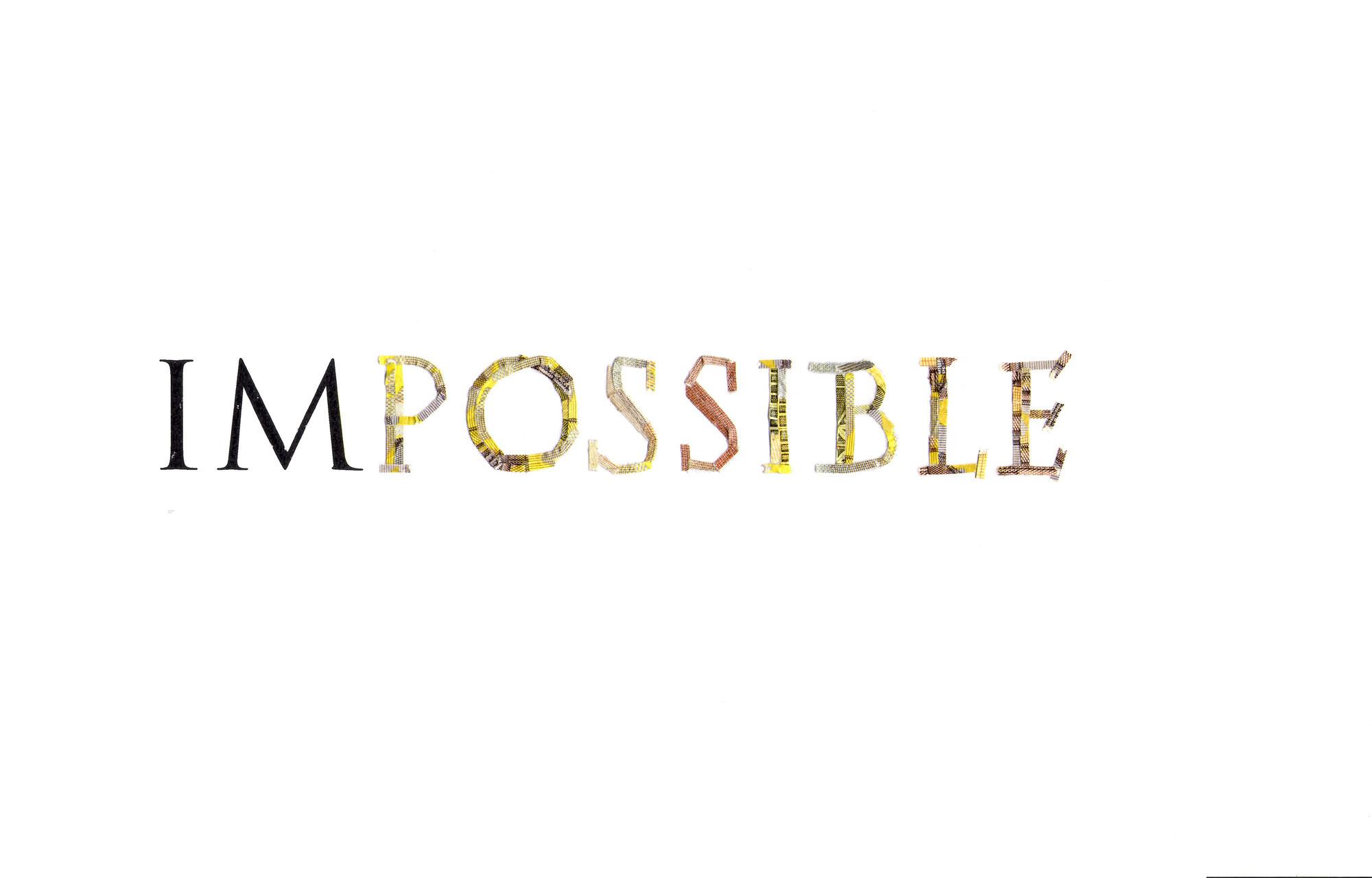 Vision impossible - Man wird ja wohl mal träumen dürfen ...