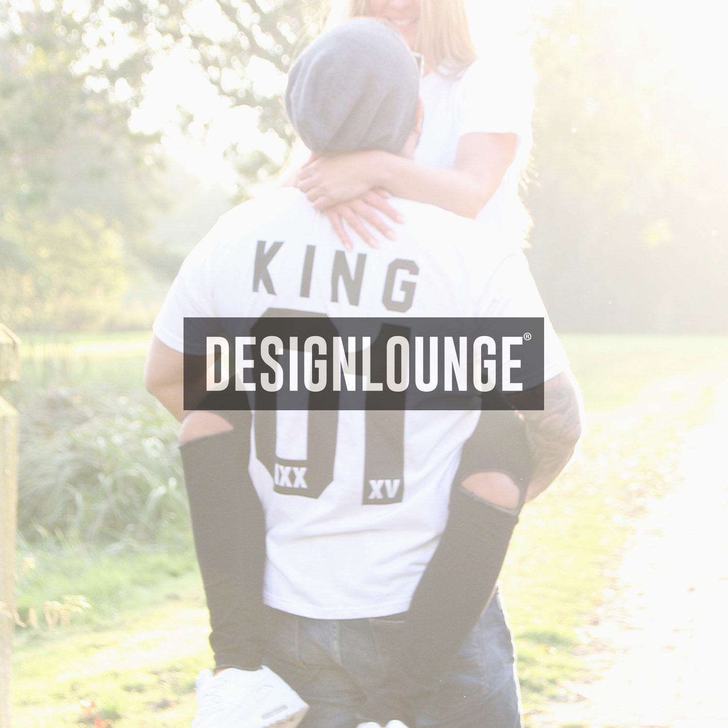 coole p rchen pullover selbst gestalten king queen mr mrs partner t shirt designlounge. Black Bedroom Furniture Sets. Home Design Ideas