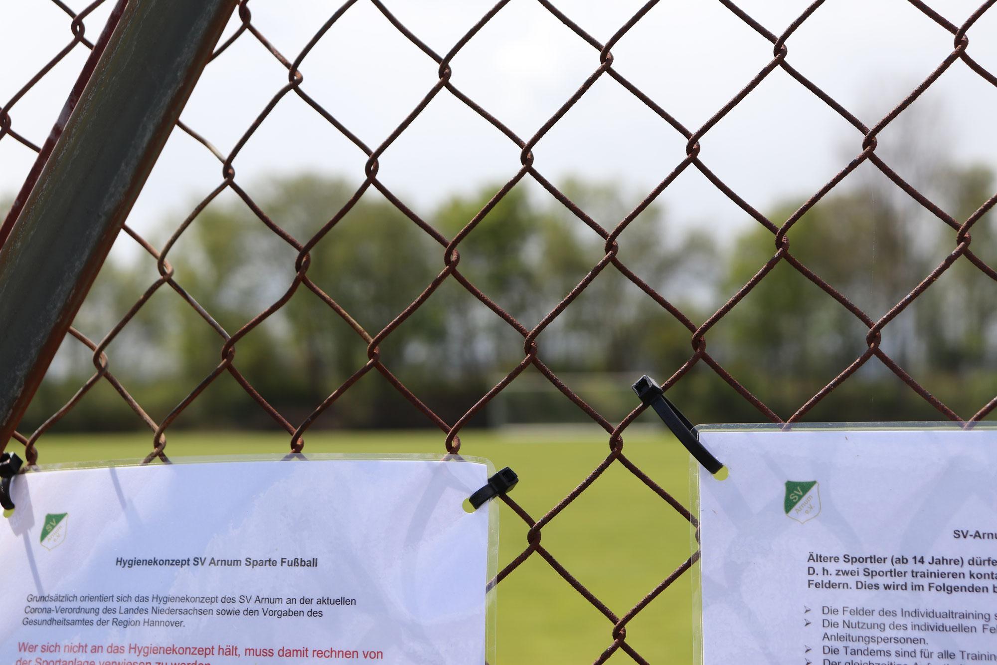 SV Arnum nimmt Sportbetrieb wieder auf