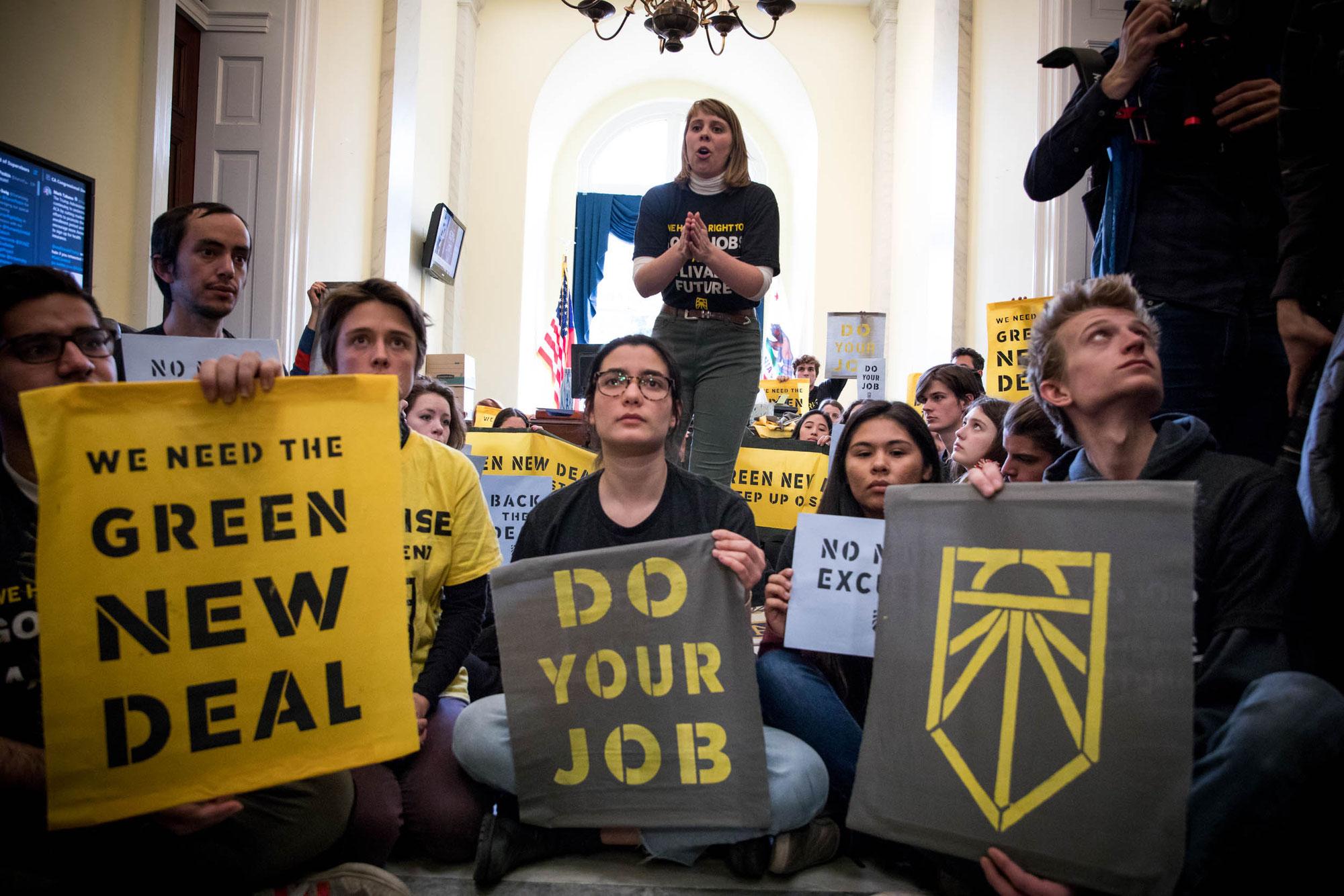 Wer hat Angst vorm Gren New Deal?