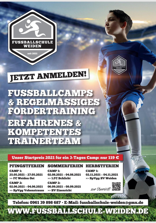 Fussballcamp in den Pfingstferien