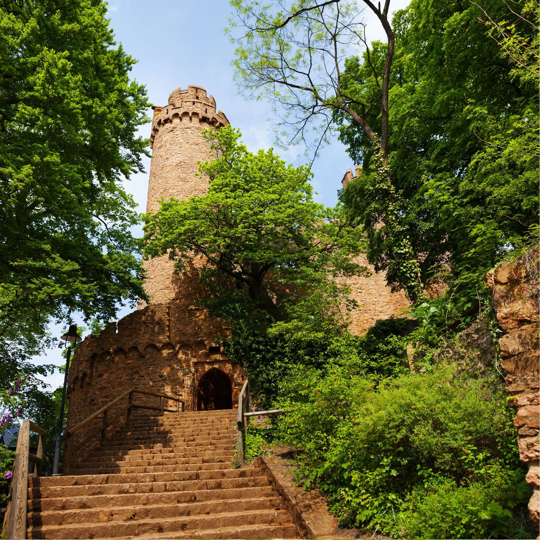 Heiraten auf einer Burg  - auch im Odenwald möglich