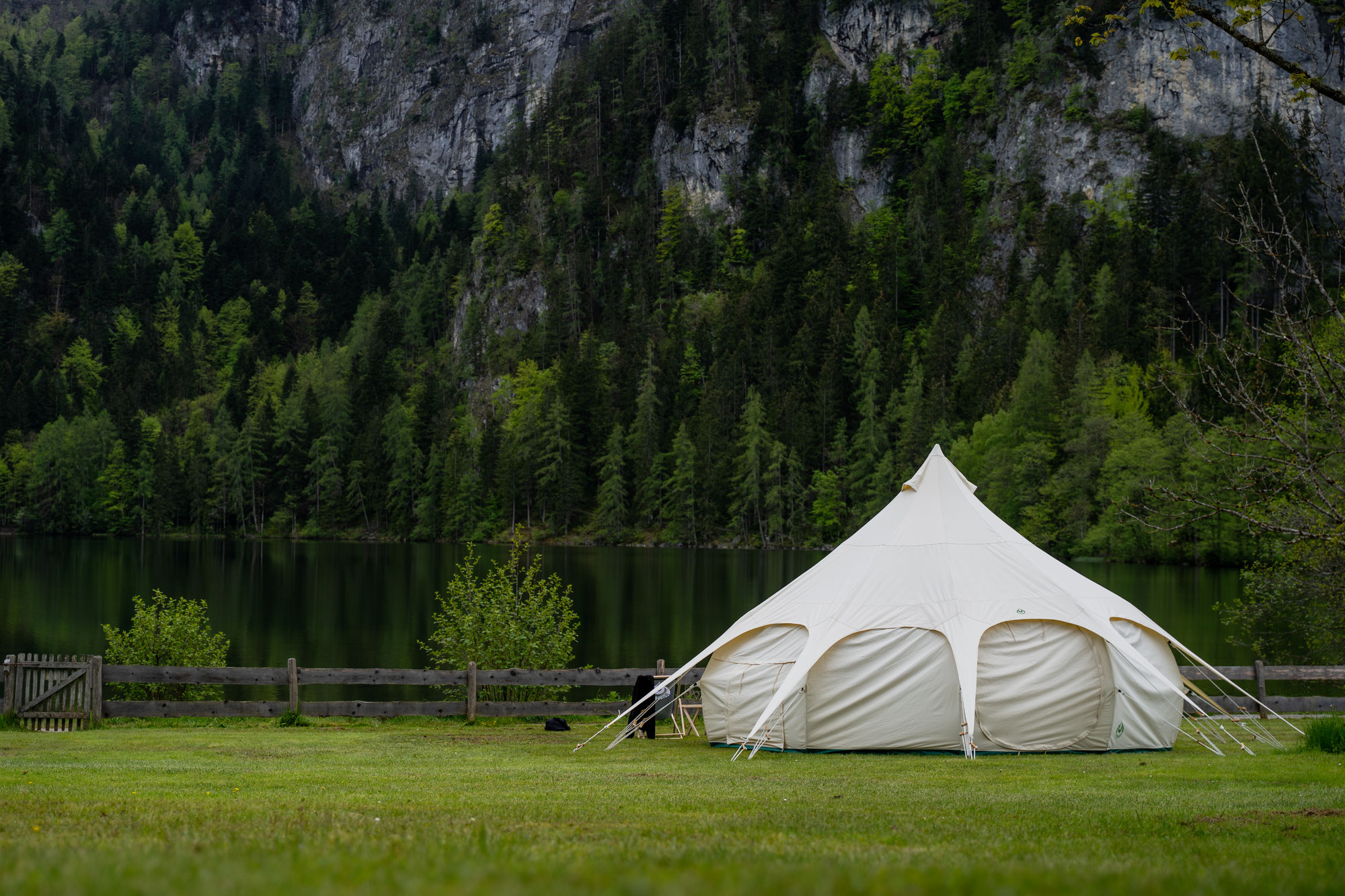 Pop-up Glamping am Gleinkersee