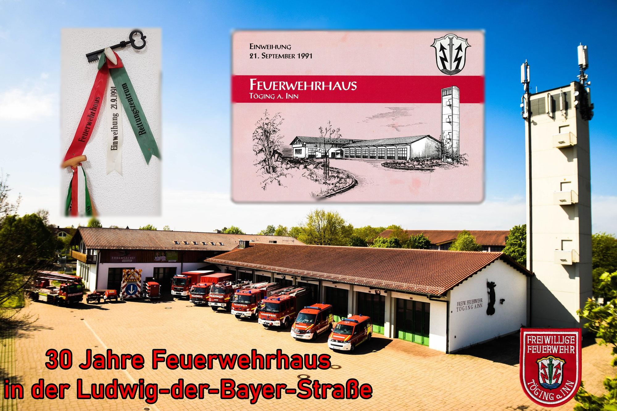 30 Jahre Feuerwehrhaus - Ludwig-der-Bayer-Str.