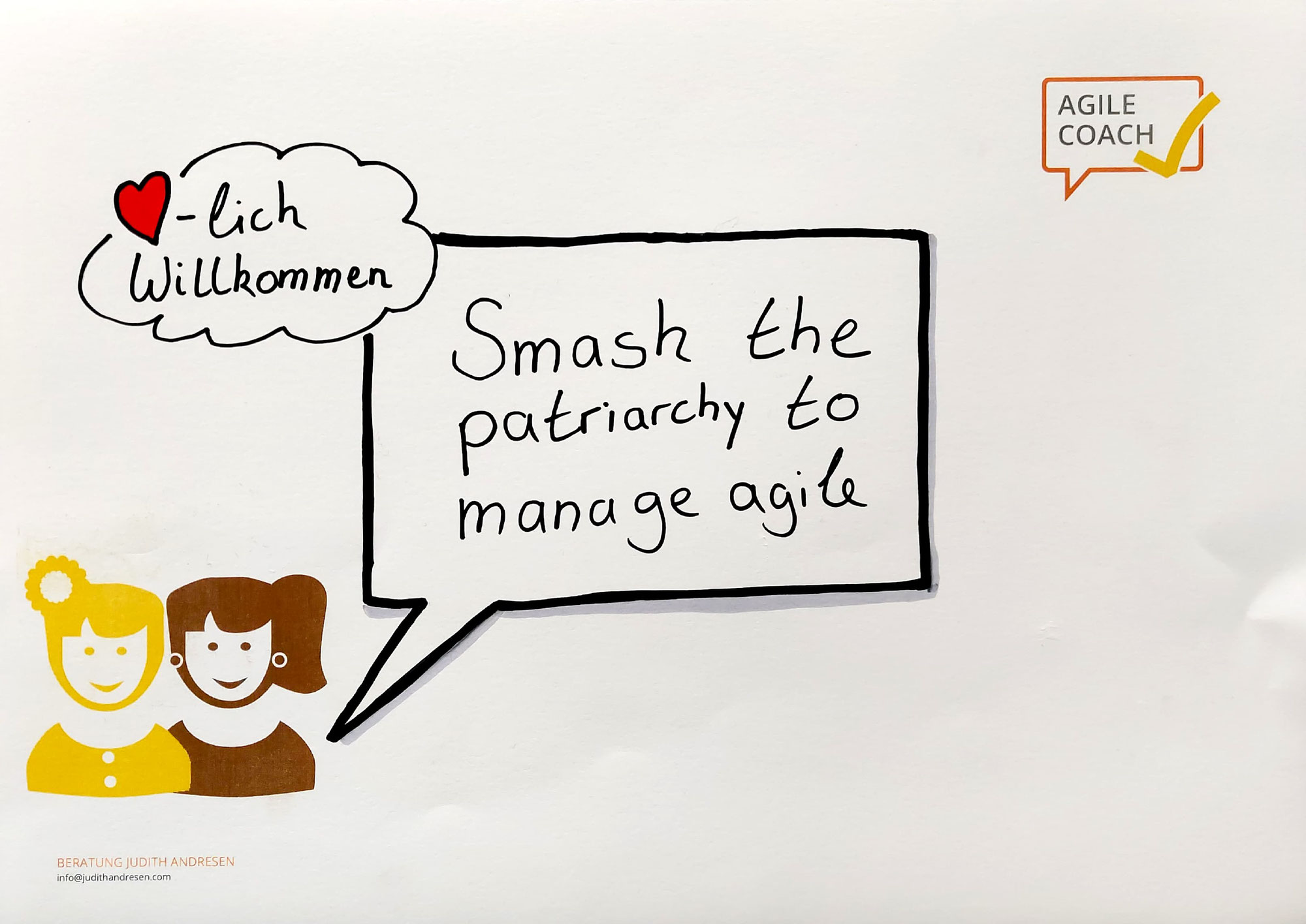 Manage Agile | Smash the patriarchy to manage agile