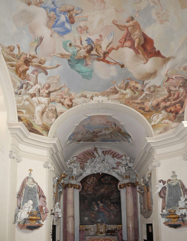 Röhrenbach: Traumhaft schöne Troger-Fresken bleiben nun erhalten