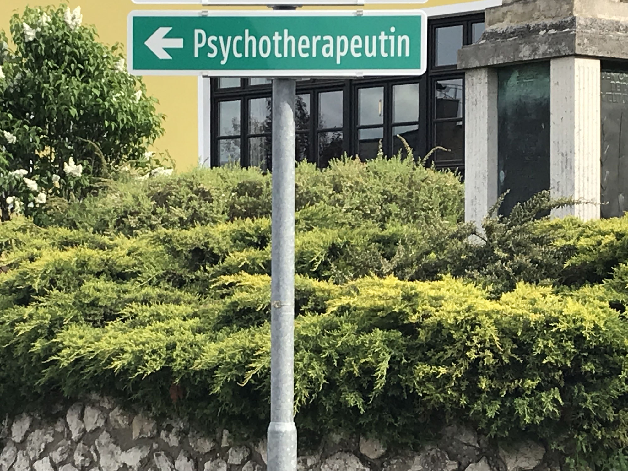 Auf dem Weg zur Psychotherapie?