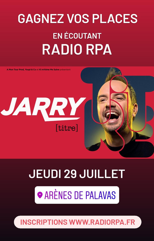 Jeu Radio RPA - Jarry - Palavas - Jeudi 29 Juillet 2021