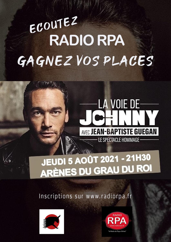Jeu Radio RPA - Jean Baptiste Guegan - Grau du Roi - Jeudi 5 Aout 2021