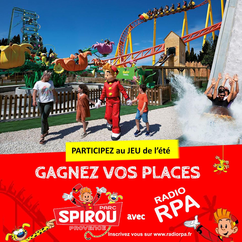 Gagnez vos places pour le Parc Spirou avec Radio RPA