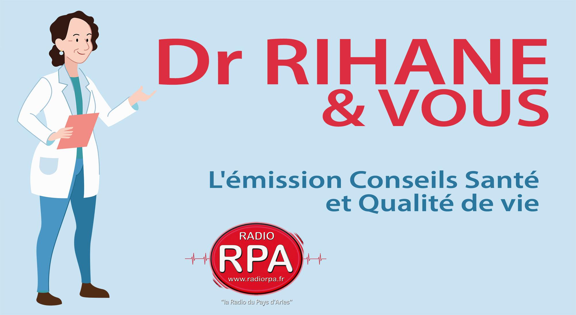 Posez votre question au Dr Rihane sur Radio RPA