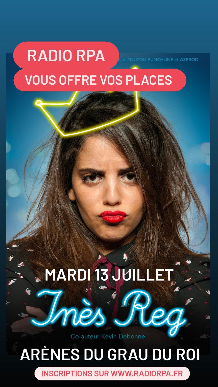 Jeu Inès Reg - Grau du Roi - Mardi 13 Juillet 2021