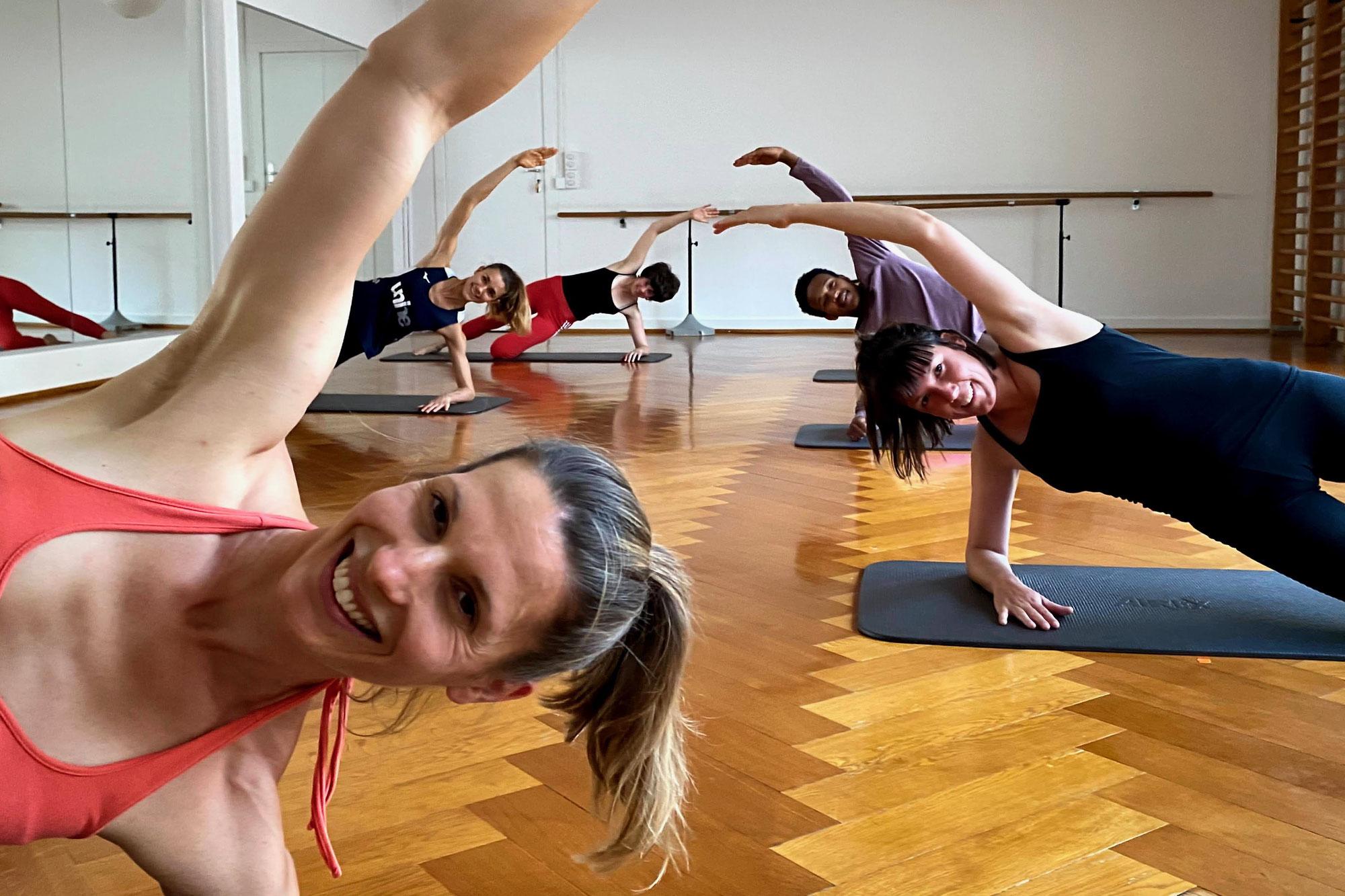 Pilates im Studio: Frühling - Sommer