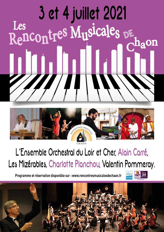 """Exposition aux """"Rencontres musicales de Chaon"""""""