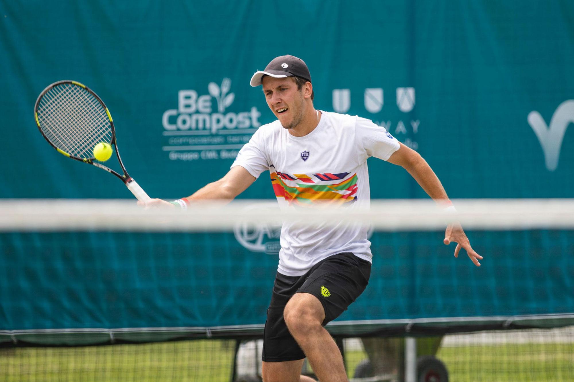 Battute conclusive agli Internazionali di tennis su erba naturale di Gaiba