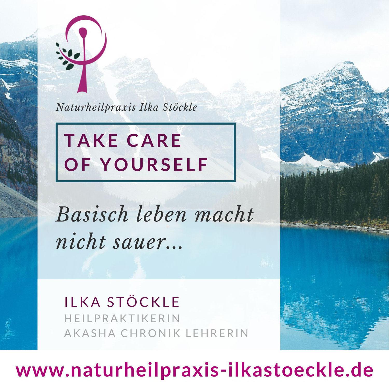 Take care of yourself- basisch leben macht nicht sauer