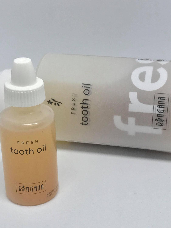 Ringana Zahnöl - der Selbsttest