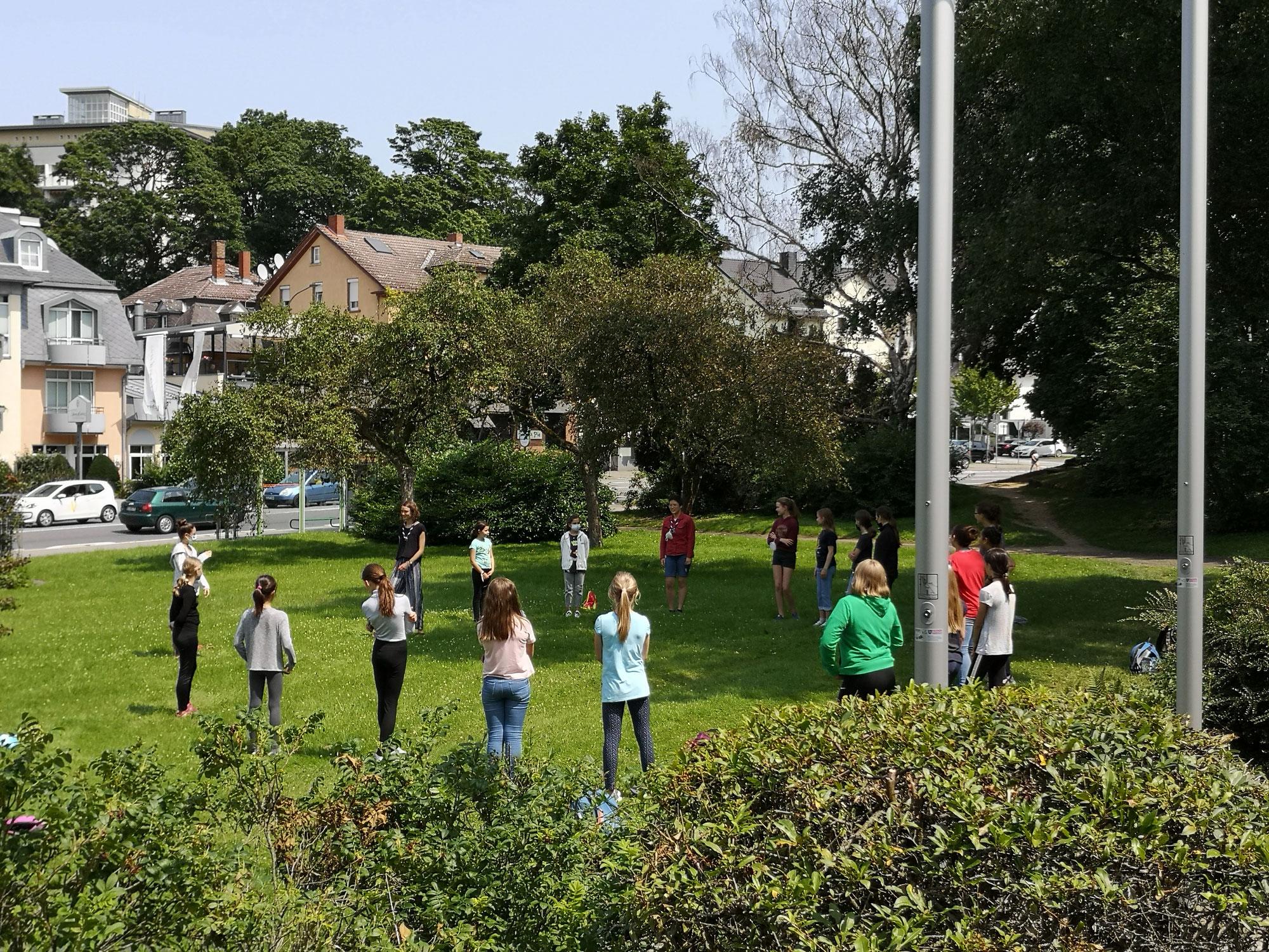 Ferienspieltag in Gießen: Pfadfinderinnen erleben Abenteuer