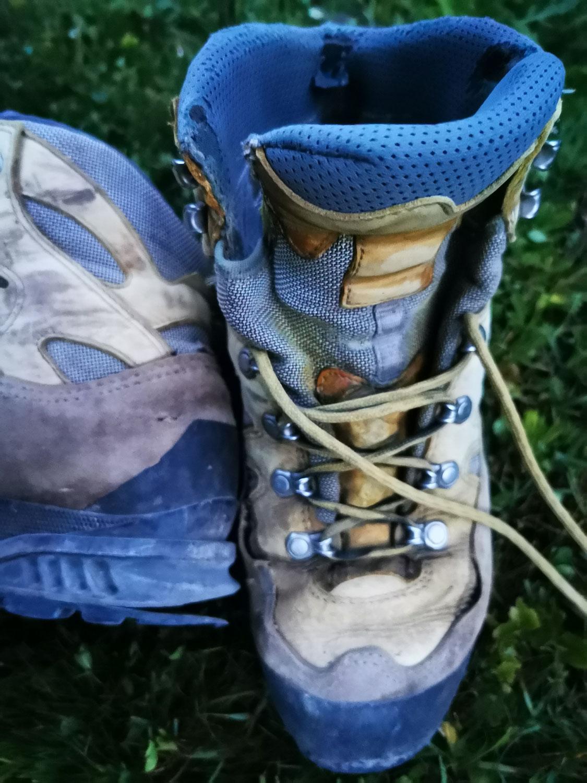 Ausrüstungstest: Schuhe durchgefallen
