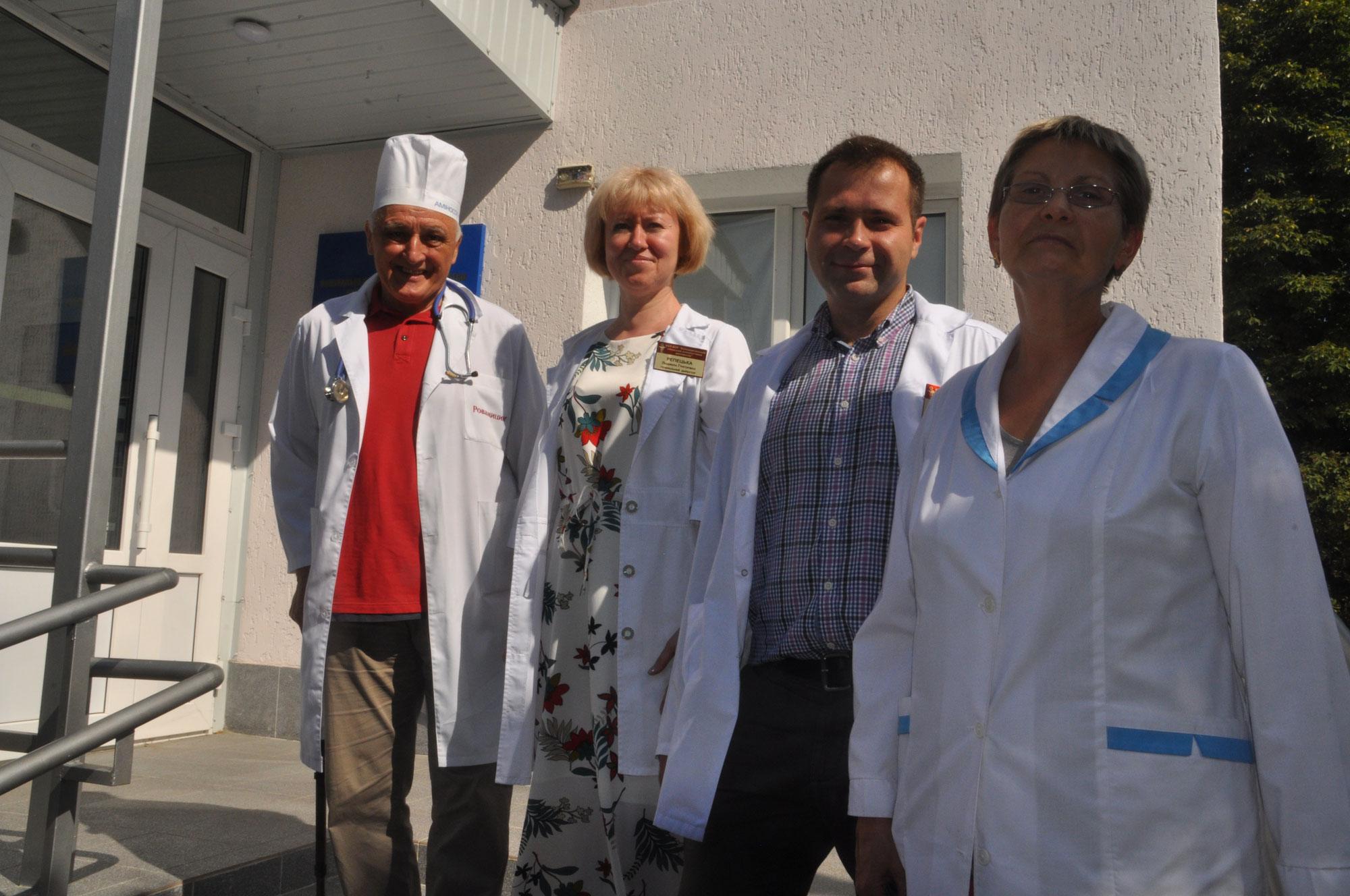 Das onkologische Krankenhaus in Bila Zerkwa braucht unsere Unterstützung