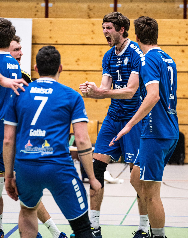 Derbyzeit für Blue Volleys