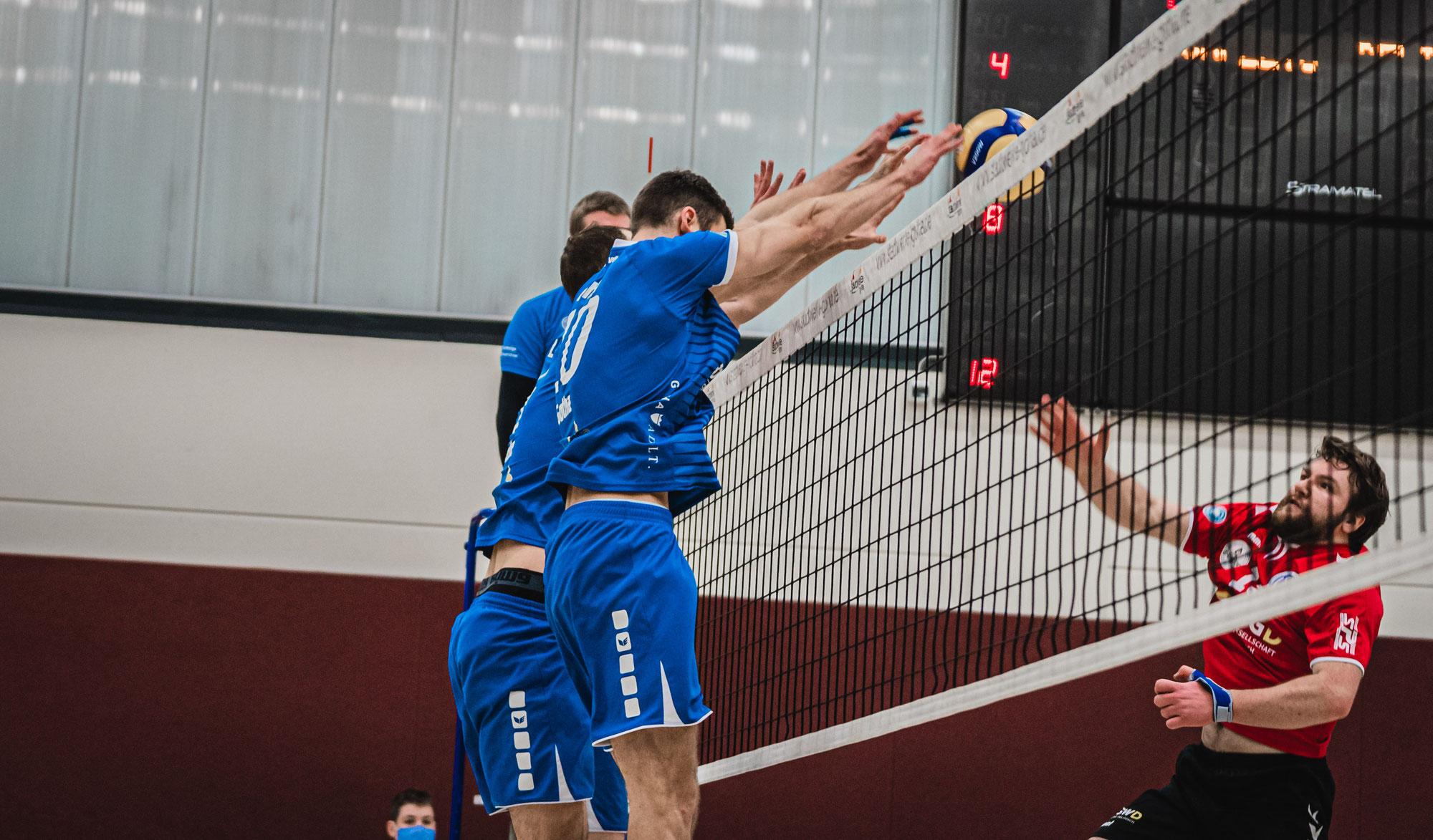 Wieder ein Derby für Blue Volleys