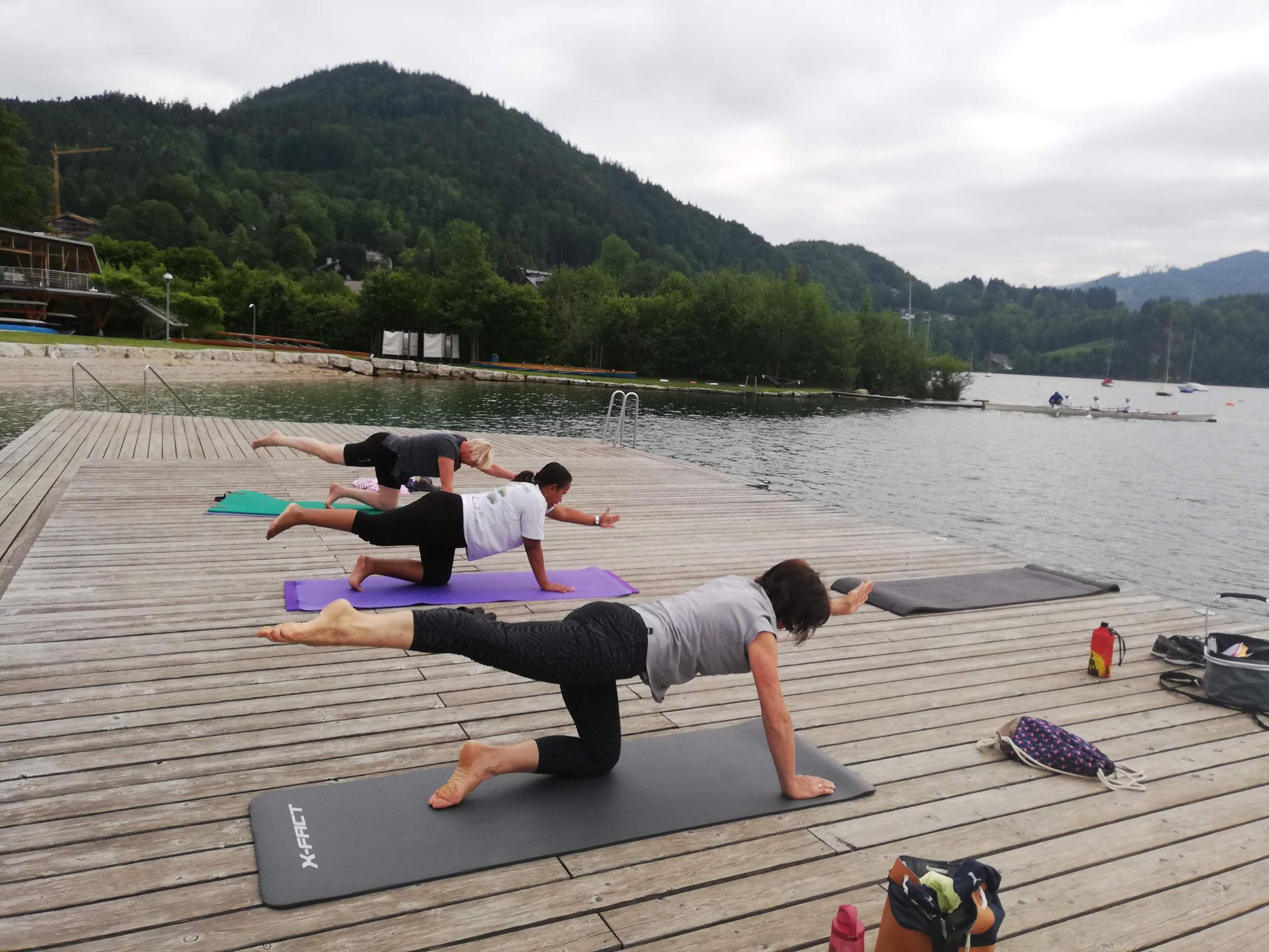 Pilates am Wolfgangsee