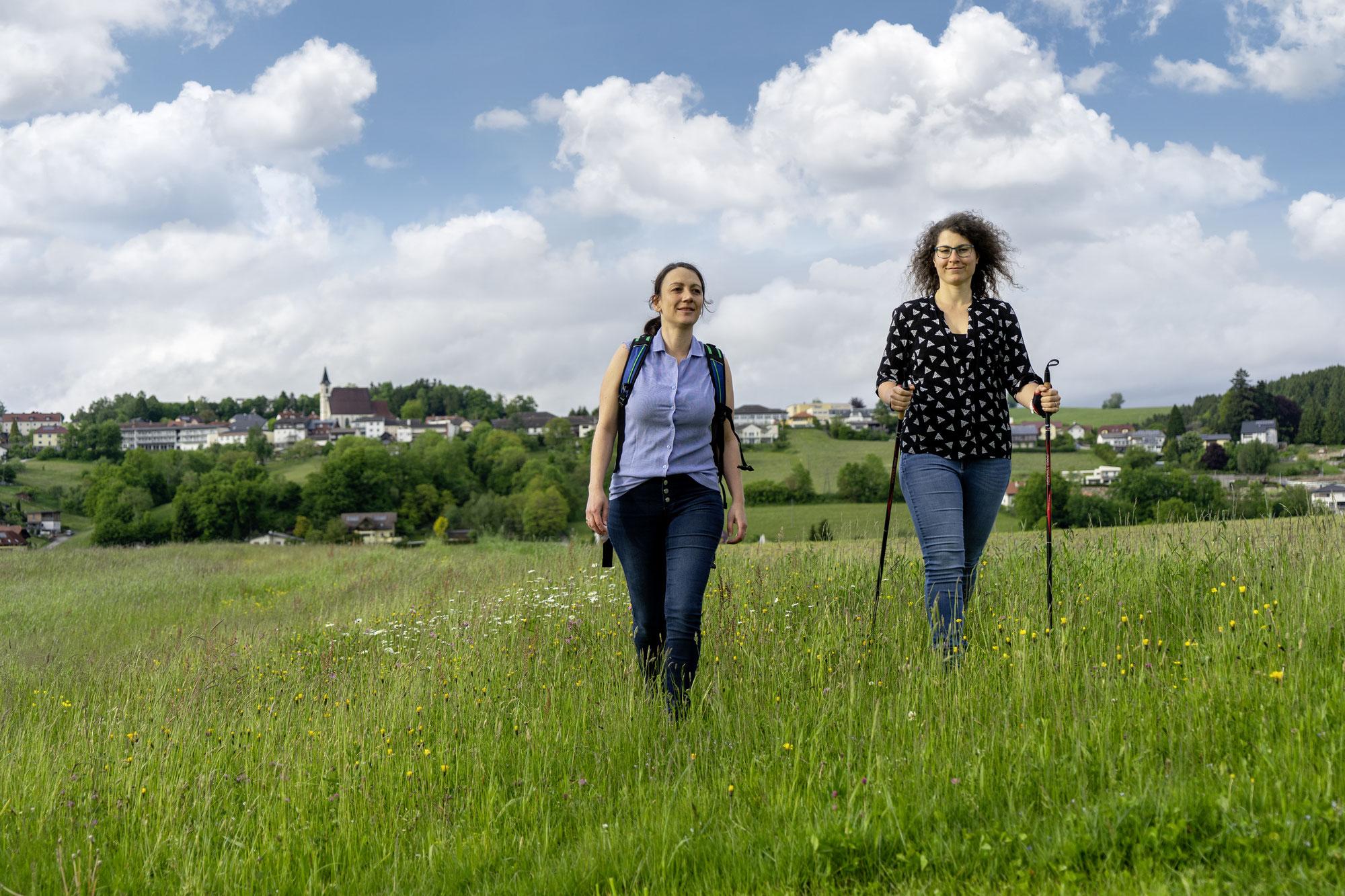 Mitzi und Susi wandern