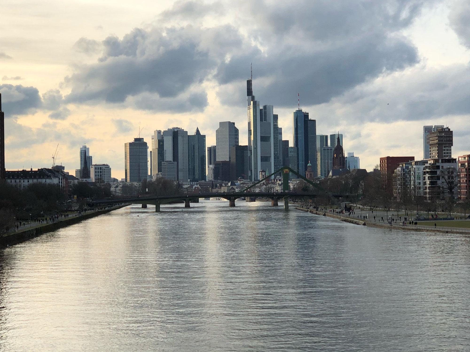 Ausflug nach Frankfurt