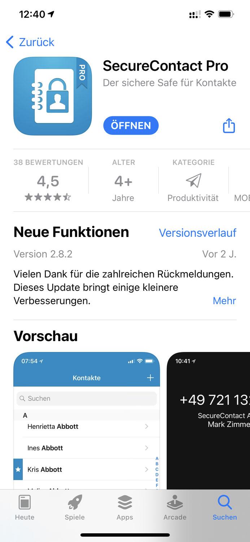 Alte Apps starten unter iOS 14.5 nicht mehr