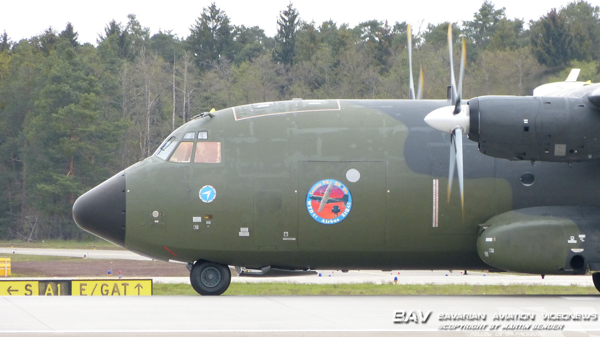 Eine Ära endet! Letzte Transall bei Airbus!