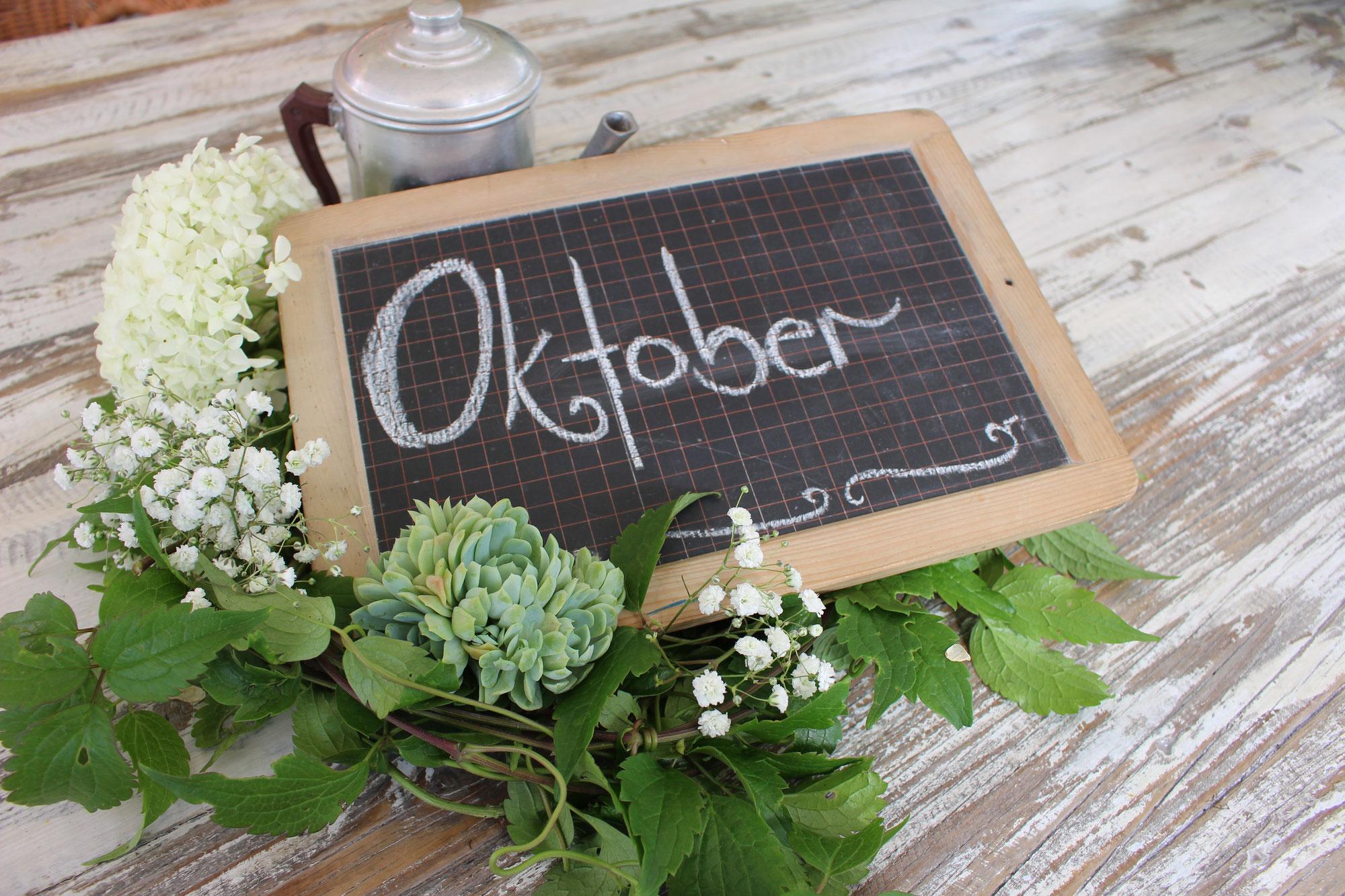 #Oktober Garten