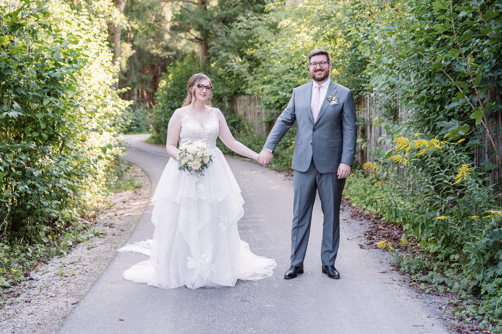 Miriam & Matthias - Hochzeit in der alten Gaertnerei Taufkirchen