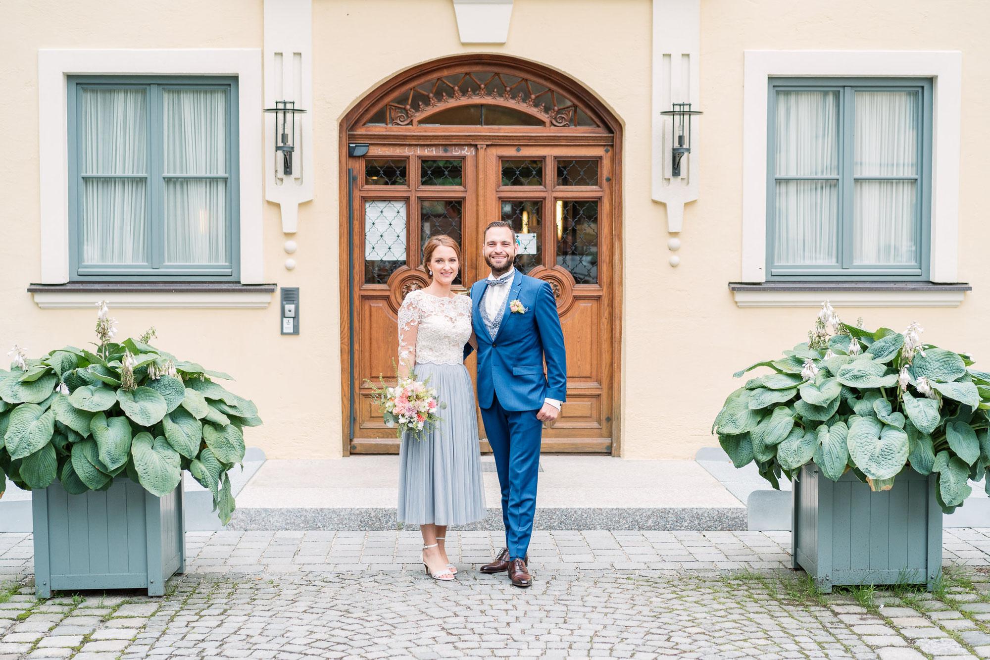 Sabrina & Joerg - Hochzeit im Standesamt Ismaning