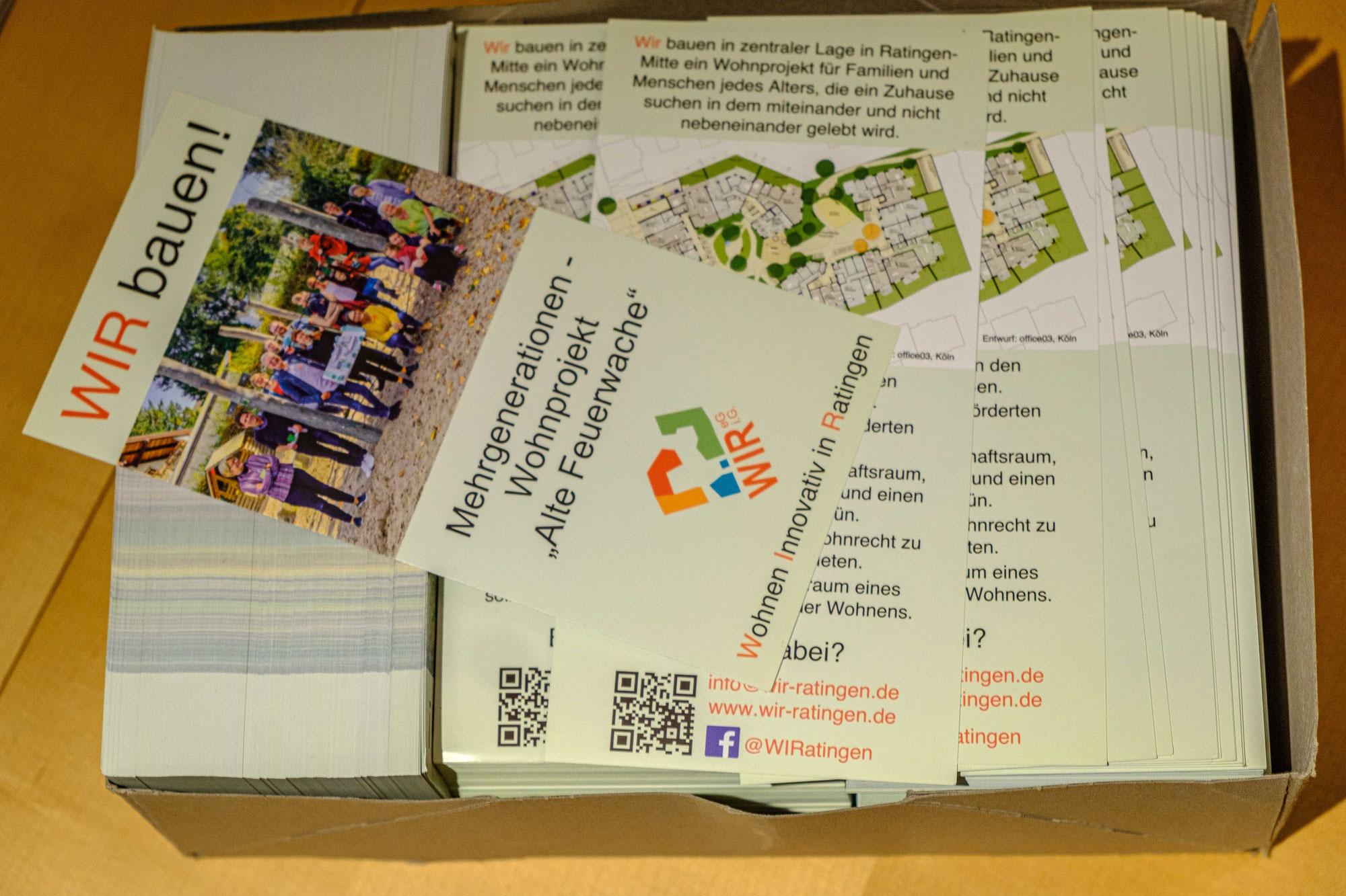 Neuer Flyer frisch aus der Druckerpresse!
