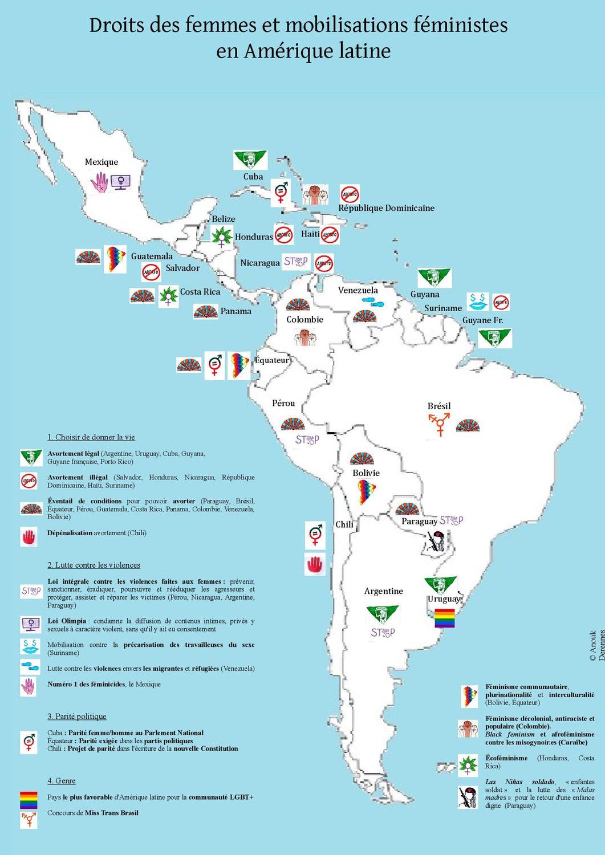 Choisir solidaire des mobilisations féministes en Amérique latine !