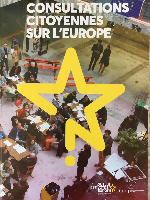 Remise du rapport final des Consultations citoyennes sur l'Europe