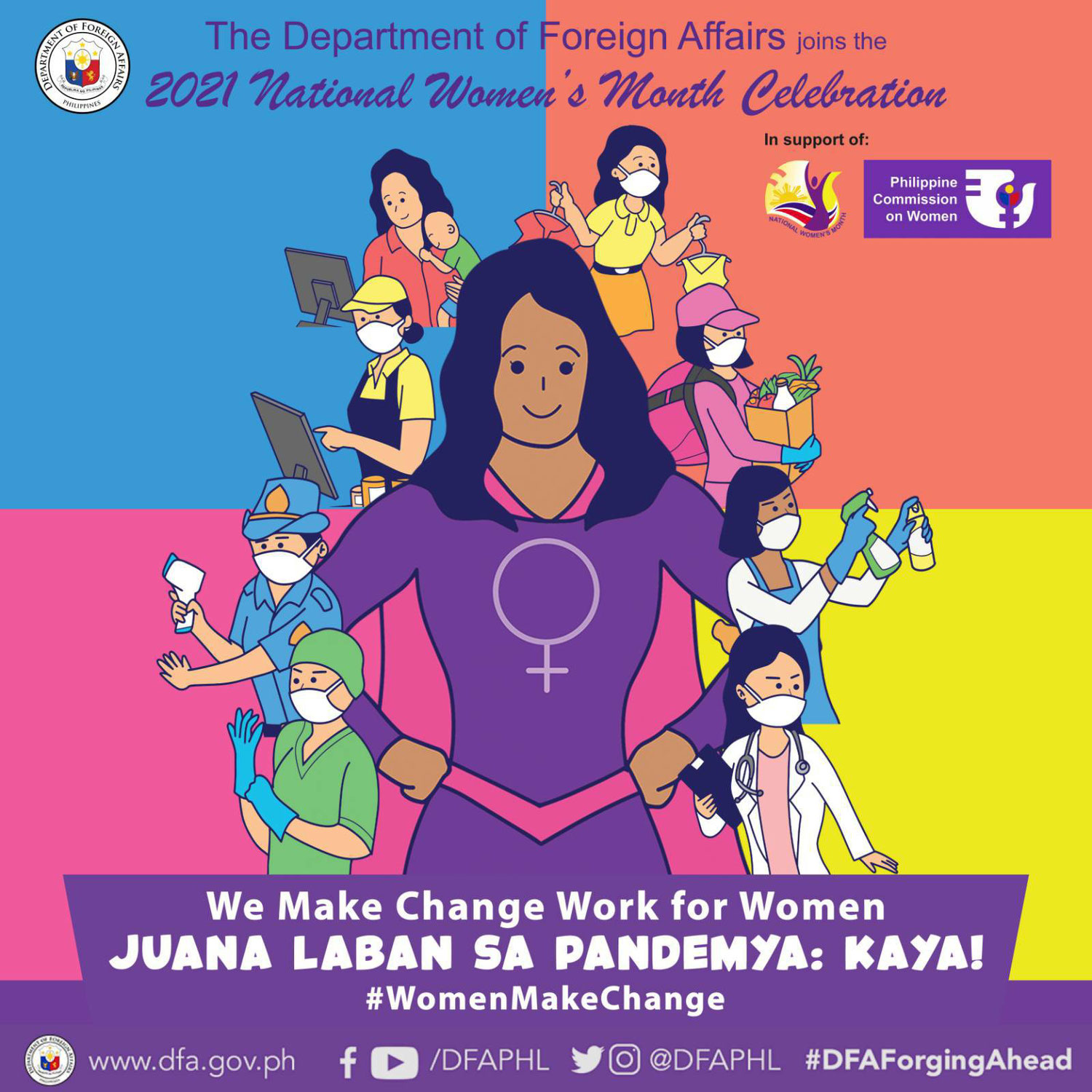 March is National Women's Month!
