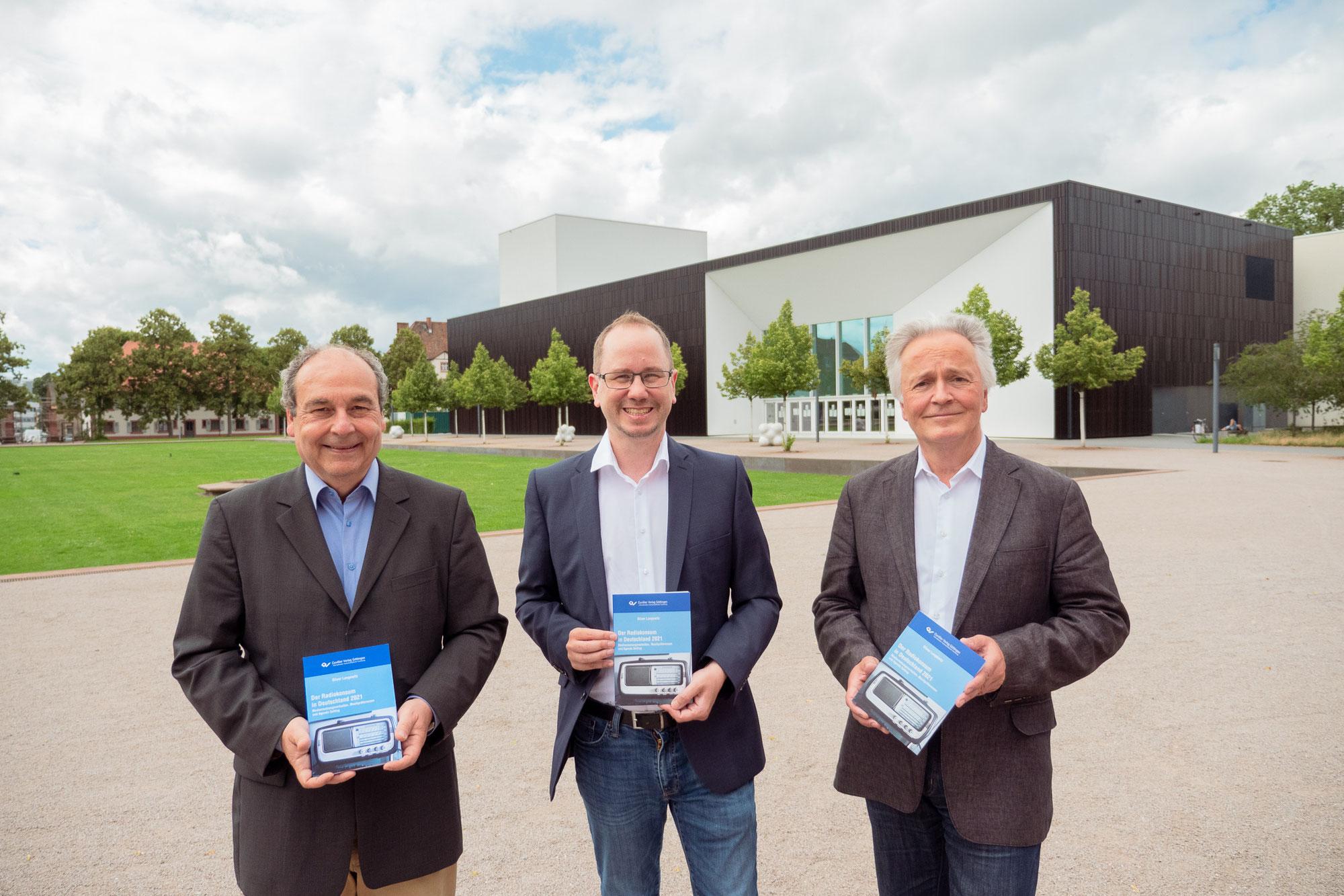 """Buch """"Der Radiokonsum in Deutschland 2021"""" im Cuvillier-Verlag erschienen"""