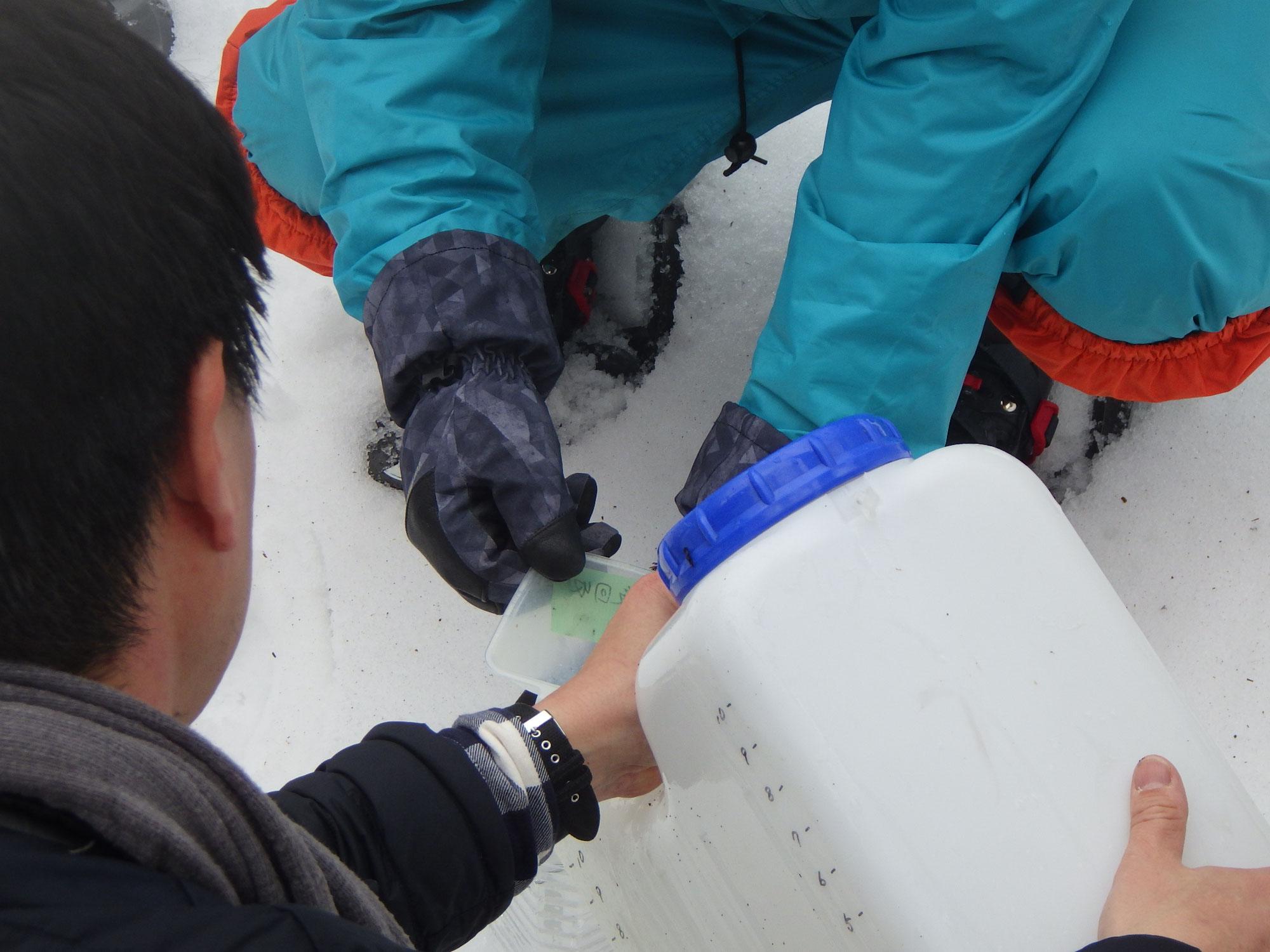 【メープル部会】奥びわ湖・山門水源の森樹液採取①