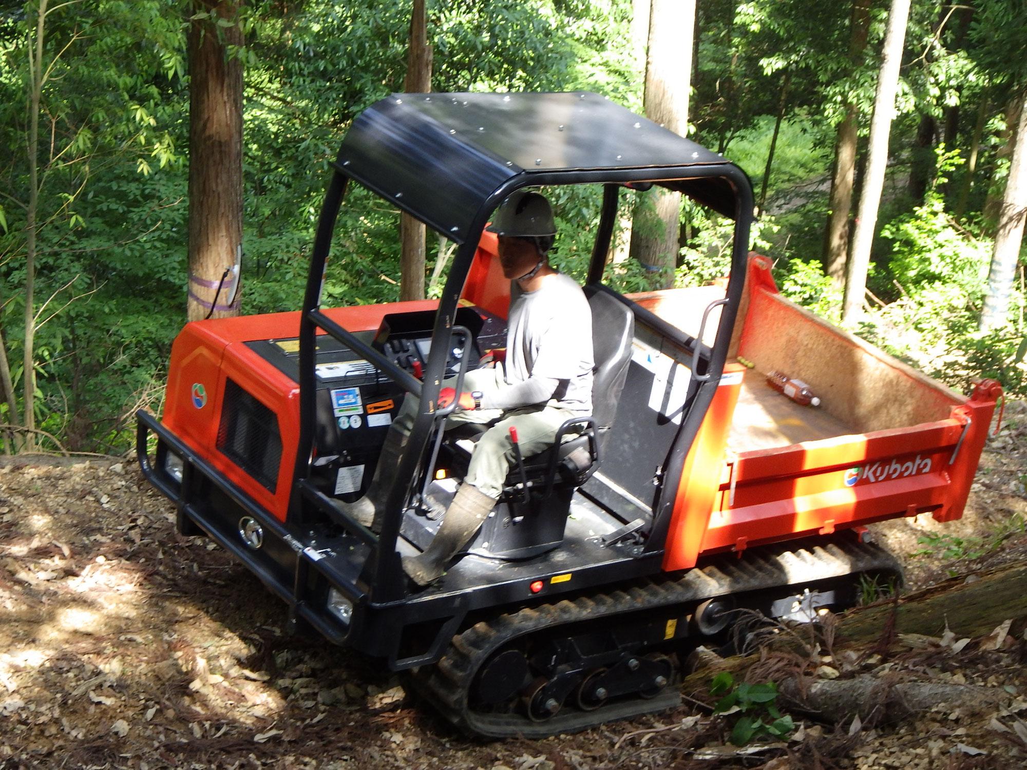 森の作業道づくりを学ぶ②